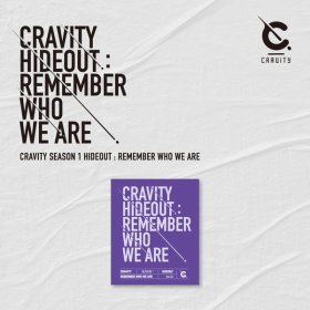 크래비티 CRAVITY SEASON 1 HIDEOUT REMEMBER WHO WE ARE (VER.2) / 발매일 : 4월 14일
