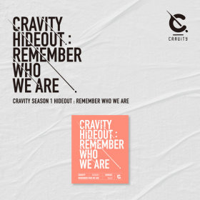 크래비티 CRAVITY SEASON 1 HIDEOUT REMEMBER WHO WE ARE (VER.3) / 발매일 : 4월 14일