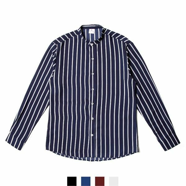 (현대Hmall) 하프클럽/넘버나인 차이나카라스트라이프파자마셔츠 상품이미지