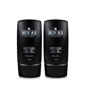 무칸 선젤 2개 /썬젤/선크림/썬크림/자외선차단제