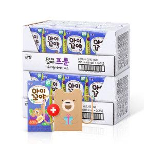 아이꼬야 유기농 베이비주스 48팩(프룬)+컵홀더