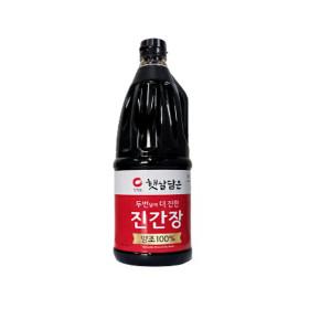 청정원 햇살담은 양조진간장 진한맛 1.7L
