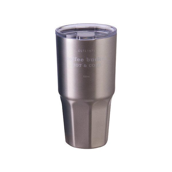 코멕스 빅샷 텀블러 실버 520ml 휴대용 보온보냉 물병 상품이미지