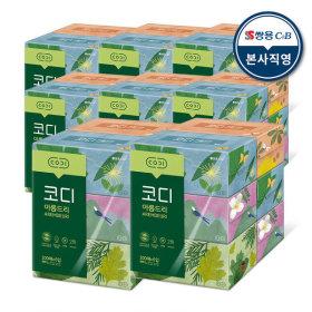 아름드리 미니 미용티슈 230매 6입 8팩 각티슈 화장지