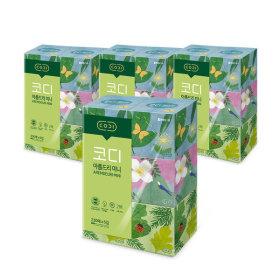 아름드리 미니 미용티슈 230매 6입 4팩 각티슈 화장지