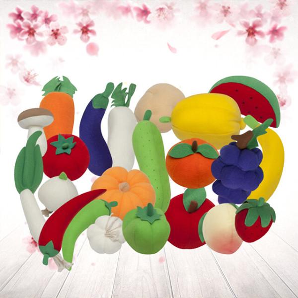 헝겊 과일 채소 놀이 인형 세트 상품이미지