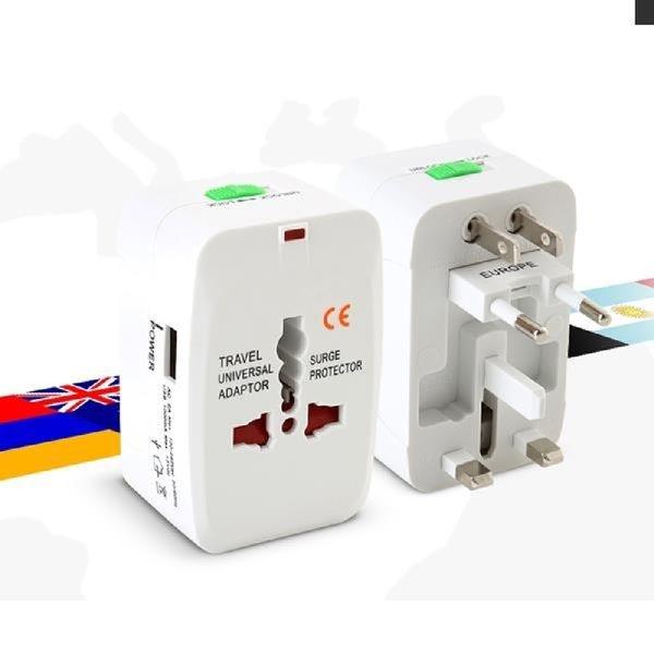 해외 여행용 USB 멀티 플러그 휴대용멀티플러그 아답 상품이미지