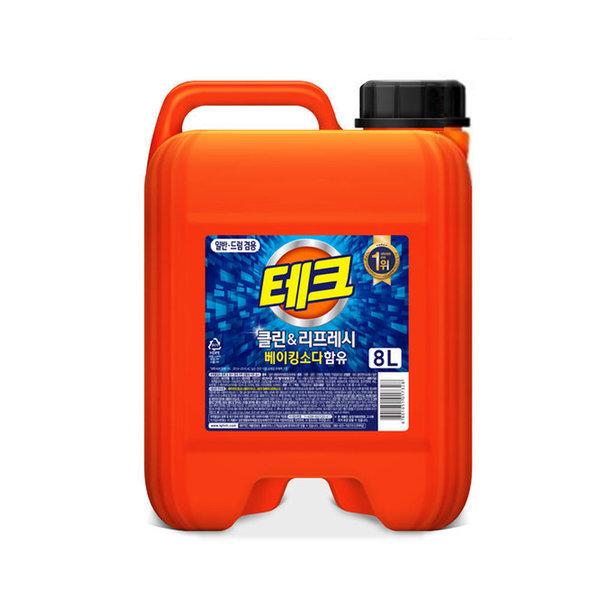 테크 파워 액체세제(겸용) 대용량 8L 상품이미지