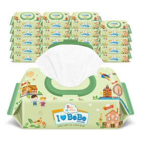 wet wipes / wet tissue / moistened tissues / baby wipes / ilovebebe wet wipes