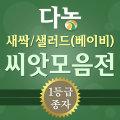 새싹/베이비(샐러드)채소씨앗모음전-새싹재배기/화분