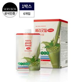 베리굿밀 다이어트 6개입/그린티라떼맛/다이어트쉐이크