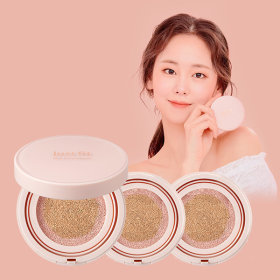 (Main1+Refill2)JUSTFIT ONCE ROSY CUSHION Set