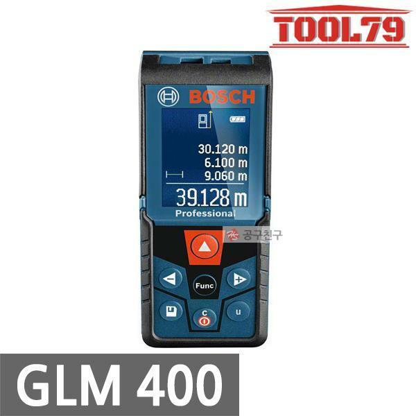 보쉬 GLM400 거리측정기 실내측정기 40M 면적길이부피 상품이미지