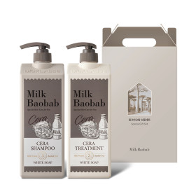 CERA HAIR 2-item Gift Set (White Soap)