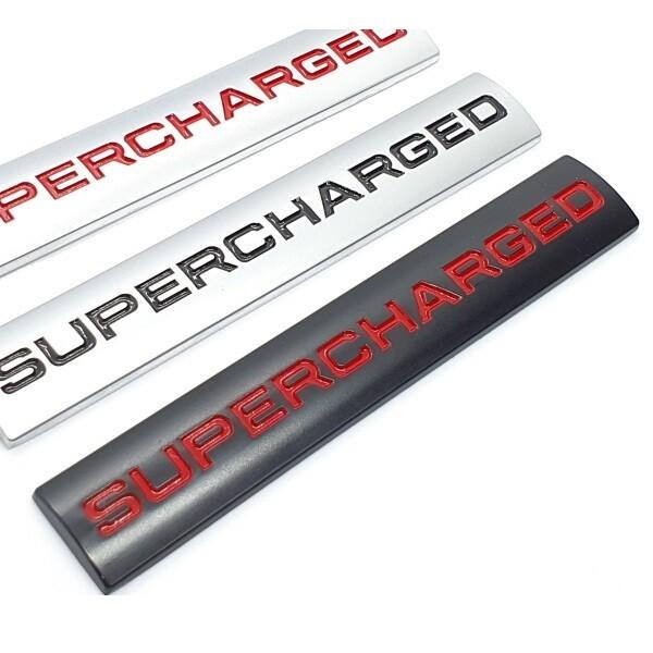 SUPERCHARGED 엠블럼 슈퍼차져엠블럼 아우디스티커 수 상품이미지
