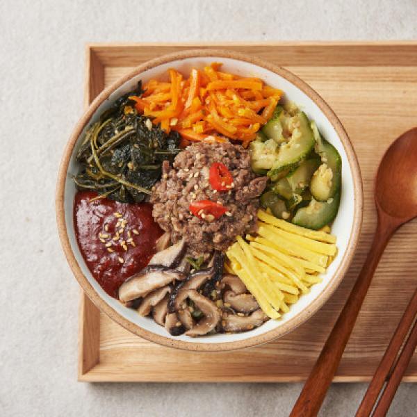 예약 푸드)정성불고기비빔밥 321G 상품이미지