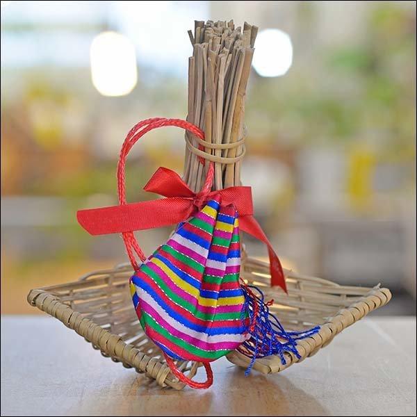 B056/복조리/소/국산/전통장식/새해선물/외국인선물 상품이미지
