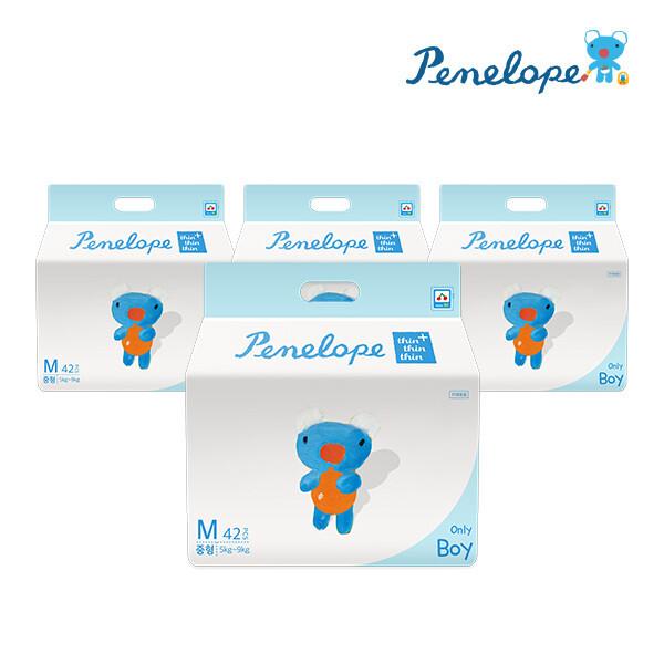 페넬로페  씬씬씬 플러스 팬티기저귀 중형 남아용 42매x4팩 상품이미지