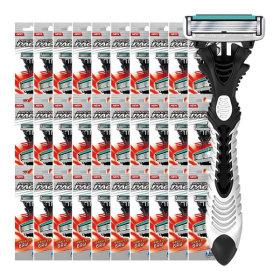 도루코 휴대용 면도기 6중날 페이스6 x30