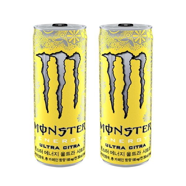 코카콜라  몬스터 에너지 시트라 355ml캔 24입 상품이미지