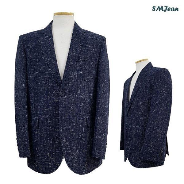 SMJ836 BD베리티 콤비 자켓 남성 캐주얼 자켓 남자 봄 여름 한국산 상품이미지