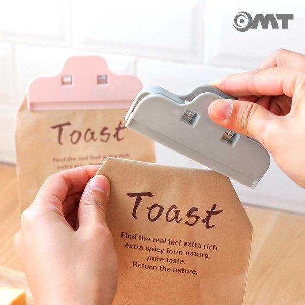 OMT 집게형 다용도 밀봉클립 주방용품 OKA-SEALCLIP 상품이미지
