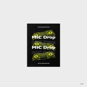 MIC Drop_Magazine Note_Neon