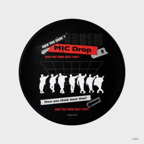 MIC Drop_MIC Drop Mouse Pad Black