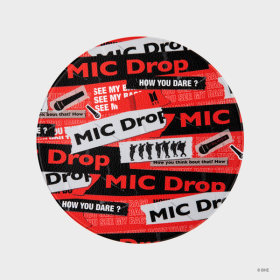 MIC Drop_HOW YOU Mouse Pad Red