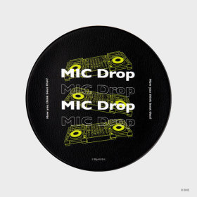 MIC Drop_DJ Controller Mouse Pad Black