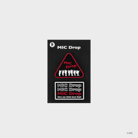 MIC Drop_Wappen Pin-badge Set_Red
