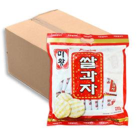 미왕쌀과자 쌀과자하면 미왕이죠270gx10봉 1box 대단량