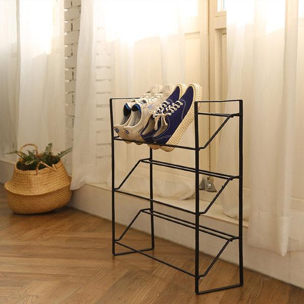 코시나 일체형 오픈 철제 신발장 상품이미지