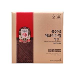 [정관장]홍삼정 에브리타임 밸런스 10ml x 30포(쇼핑백증정)