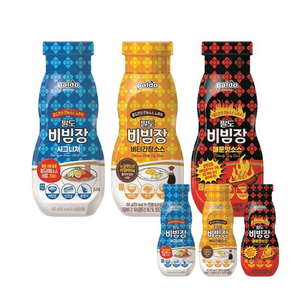 비빔장 기획팩 (시그니처+매운맛+버터간장) /200g 3개 상품이미지