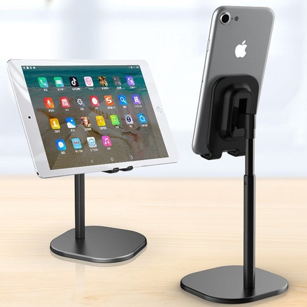 고급블랙알미늄 스마트폰 핸드폰 책상 스탠드 거치대 상품이미지
