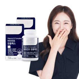 비타민B 컴플렉스 2통(4개월분)/비타민B군 복합체 8종