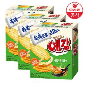 예감 볶음 양파 12P 204gx3개 +증정