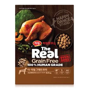 더리얼 그레인프리 오븐베이크드 닭고기 시니어 5.8kg