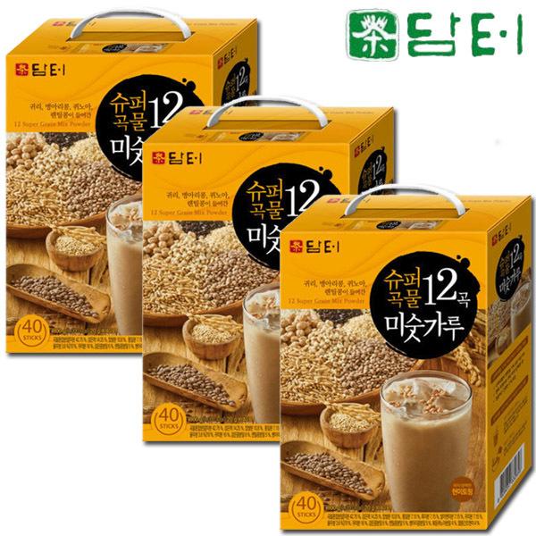 담터 슈퍼곡물12곡 미숫가루 60T+콜드컵+벚꽃라떼20T 상품이미지