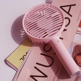 휴대용 선풍기 핑크