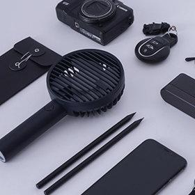 휴대용 선풍기 블랙