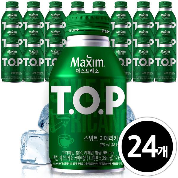 TOP 스위트아메리카노 275mlx24캔/캔커피 상품이미지