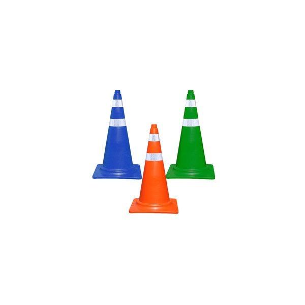 칼라콘(S)/도로안전/컬러콘/꼬깔콘/주차고깔/주차꼬깔 상품이미지
