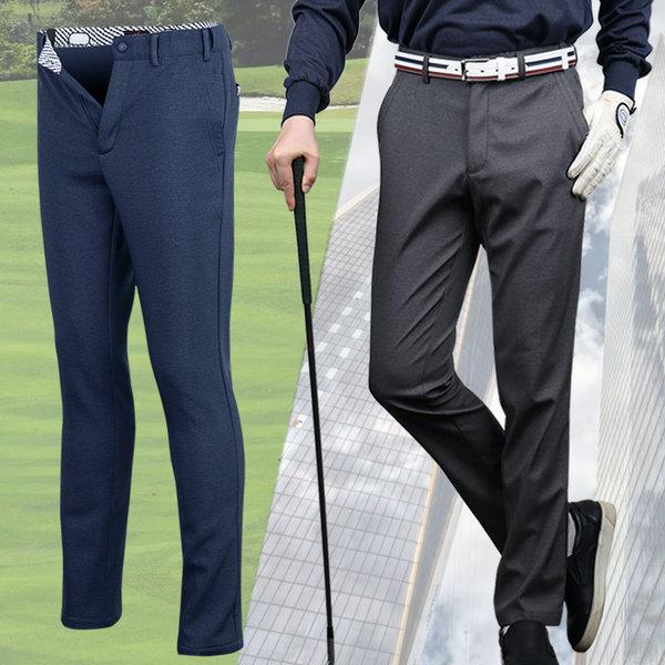 남성 슬림 카치온스판 허리조절 골프바지 가을 신상 상품이미지