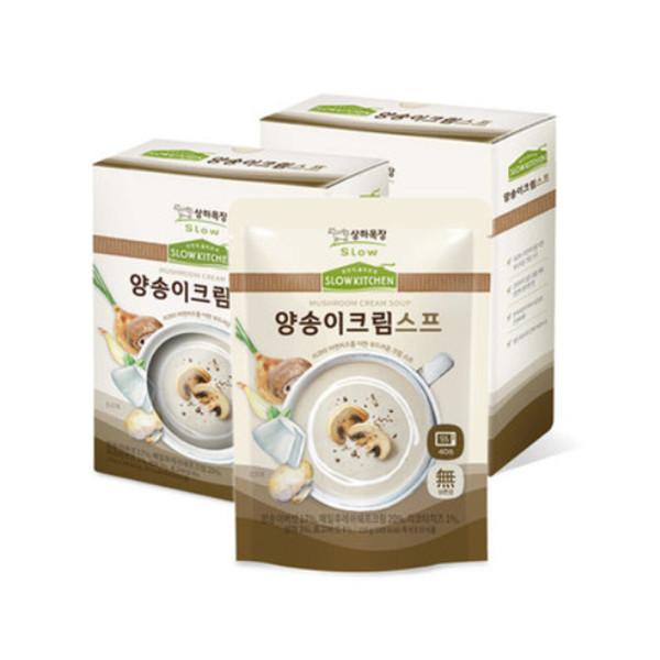 상하목장 슬로우키친 간식 양송이크림 스프 150g 6팩 상품이미지