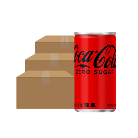 코카콜라제로 190ml x 90 CAN