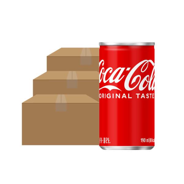 코카콜라 190ml x 90 CAN 상품이미지
