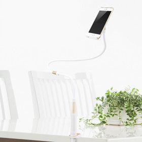 브라이트 침대 스마트폰 자바라 거치대-골드 120cm