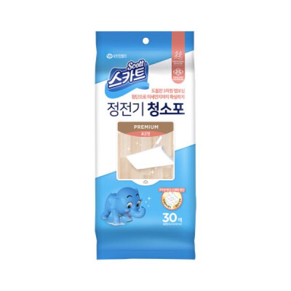 스카트)정전기청소포Premium(표준형 30매) 상품이미지